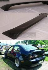 VW Bora Jetta MK4 98-05 Saloon Boot Trunk Spoiler R Line Lip Wing Trim Lid Sedan
