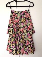 Simon Ellis-Skirt (Gold Medal Collection) /Siz/2-Tiered/Floral Print/UK 10/NWOT