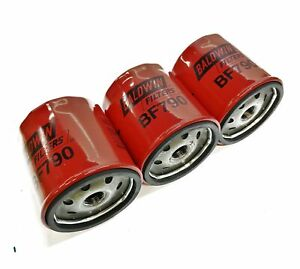 Baldwin Filters Fuel Filter BF790 [Lot of 3] NOS