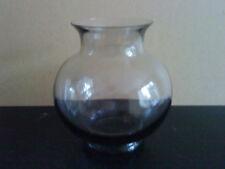 WEDGWOOD GLASS FRANK THROWER DESIGN FLOWER VASE MIDNIGHT