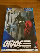 "Hasbro G.I. Joe Classified Series Snake Eyes 6"" IN HAND READY TO SHIP"