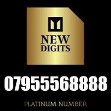 UNIQUE EXCLUSIVE UK RARE GOLD VIP MOBILE PHONE NUMBER SIM CARD 8888