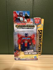 Transformers Scout Class Energon Axe Attack OPTIMUS PRIME Cyberverse