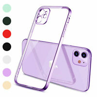 For iPhone XR X XS XS Max 11 Pro SE 2nd 8 7 Hybrid Clear Rubber Phone Case Cover