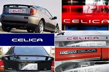 2003 2004 05 TOYOTA CELICA GT GTS EXTERIOR CHROME REAR LOGO LETTER TRUNK INSERTS
