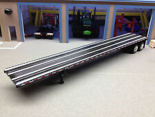 1/64 DCP BLACK WILSON FLATBED TRAILER