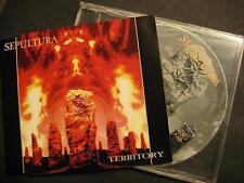 """SEPULTURA """"TERRITORY"""" - MAXI CD"""