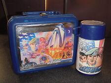 "1987 Vintage Retro G.I. Joe ""American Hero"" Plastic Lunchbox W/Thermos (Aladdin)"