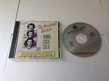 The Andrews Sisters - Rum & Coca Cola - CD - 23 Trk New