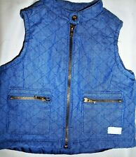 7 For All Mankind Baby Vest - Size 18 months - Blue Baby Vest - Beautiful Condit