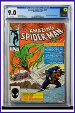 Amazing Spider-Man #277 CGC Graded 9.0 Marvel June 1986 White Pages Comic Book.