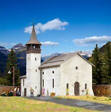 38813 Kibri HO Kit of Antonius chapel in Saas-Grund