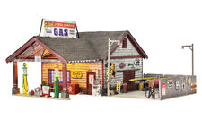 Woodland Scenics BR5849, O Scale, Ethyl's Gas Station, Built & Ready Structure