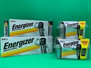 ENERGIZER AA & AAA ALKALINE BATTERIES BATTERY LR6 LR03  EXPIRY 2030