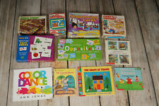 Lot of 11 items PRESCHOOL Kindergarten Sequencing Rhyming Opposites Homeschool