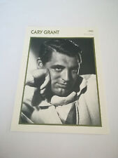 Gary Grant - Fiche cinéma - Portraits de stars 13 cm x 18 cm