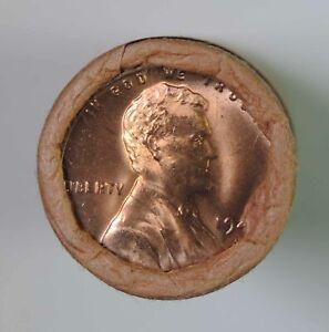 OBW Original Shotgun Roll of 1945 P BU Uncirculated Lincoln Wheat Cents Penny