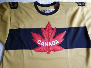 TEAM CANADA WINNIPEG FALCONS hockey jersey