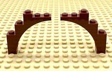LEGO Arch META/' 1x5x4 2339 grigio ORIGINALE x2; ideale per Castelli!