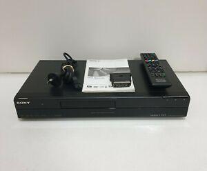 SONY RDR-HDC100 160GB HDD DVD Recorder 1080p HD Upscale Digital Tuner w/ Remote