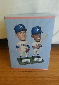 Los Angeles Dodgers Don Drysdale Maury Wills Bobblehead SGA - New In Box