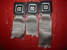 1970-1980 Era Seat Belt Buckles (3) For Gm Cars And Trucks