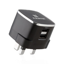 Dual UK USB Wall Smart Charger for iPhones Smartphones 3.1 Amp CE Approved