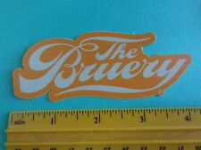 Collectible BEER STICKER ~ The BRUERY ~ Award Winning Orange County, CALIFORNIA