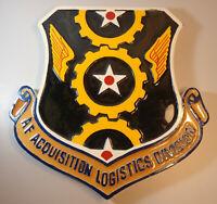 "Rare Large 14"" USAAF Air Force Acquisition Logistics Division AFLAD Epoxy Plaque"