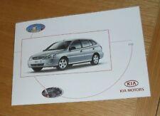 Kia Rio Brochure 2004 - LX LE