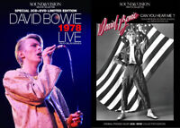 David Bowie 1978 Live Can You Hear Me Sound & Vision Archive 4 CD 2 DVD Set