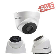 New HikVision 6MM 3MP WDR EXIR Day / Night Outdoor Turret Security Camera