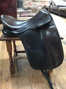 """Black Country Eden Dressage Saddle Brown 17/17.5"""""""