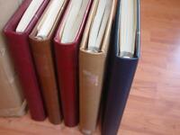 Sammlung CEPT 1956-1996 postfrisch in 5 SAFE-Alben (us225)