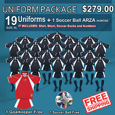 Uniform Arza Tennesee AR-2 Short Sleeve for Soccer. Package $ 279.00