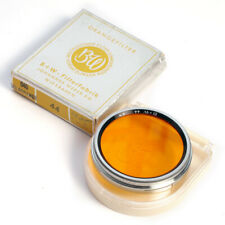 B+W Gelborange-Filter A44 Aufsteck * 44 mm push-on orange