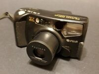 Fuji DL-1000 Zoom Date 35mm Film Camera Fujinon Zoom 35-80mm Multi AF