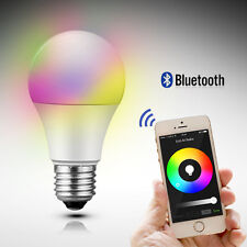 3 Packs of RGB Color LED Smart Bulb 6W with iOS- App-Bluetooth control
