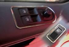 D VW T5 Chrom Rahmen für Schalter Fensterheber ohne Zentralschalter - Edelstahl