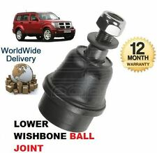FOR DODGE NITRO 2.8DT 3.7i 7/2007- ON FRONT OF WISHBONE SUSPENSION BALL JOINT