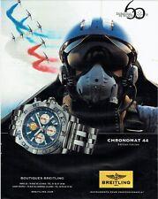 Publicité Advertising 019 2013 montre Bretling Chronomat patrouille France 23119
