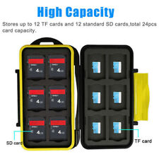SD/Micro SD Memory Card Case Holder Water Resistant Storage Pouch Wall GGO