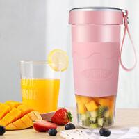 420mL Portable Juicer Electric Smoothie Maker Blender Machine Mixer Juice Cup