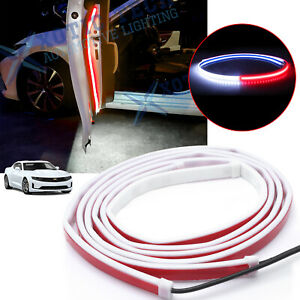 For Chevy Camaro Corvette Door Opening LED Flashing Light Anti-collision Warning