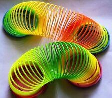 Classic Cool Children Colorful Rainbow Plastic Magic Slinky Development Toy