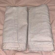 Threshold Standard Linen Blend Pillow Sham Tan Rustic Case Raw Shabby Chic