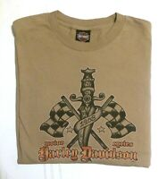 Vintage Harley-Davidson Motorcycles Qatar | Double-Sided Long Tee, Size 2XL