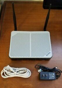 Centurylink Approved Zyxel Q1000Z 802.11n VDSL2 Wireless 4 port Modem/Router