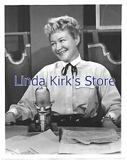 Dody Goodman Promotional Photograph Character Actress With Vintage Microphone