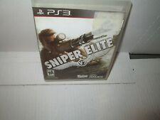 SNIPER ELITE V. 2 2012 PLAYSTATION 3 GAME PS3 Complete Excellent